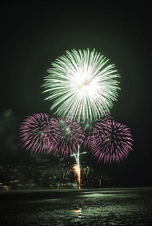 Fireworks 2010 Tairua