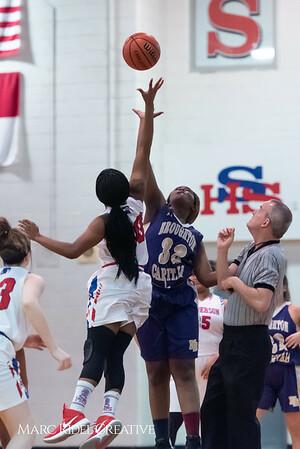 Broughton girls varsity basketball vs Sanderson. February 12, 2019. 750_5837