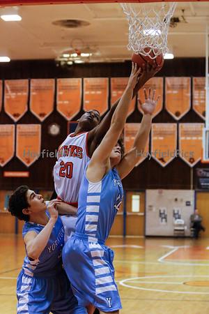 Boys Basketball Yorktown 1/14/13