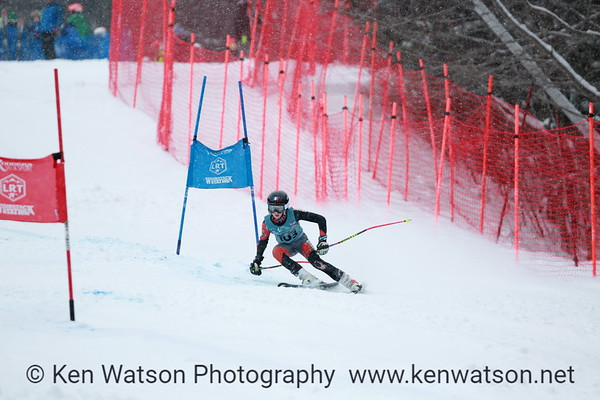 2018-03-11 NHARA U12 Championship Boys GS 1st Run