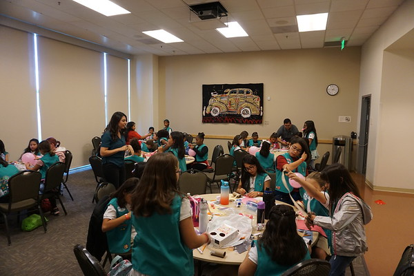 2019.11.1 Girl Scouts Day at CSULA