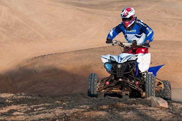 Yamaha's rider.
