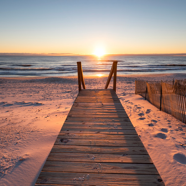 Cape San Blas Walk to Sunset