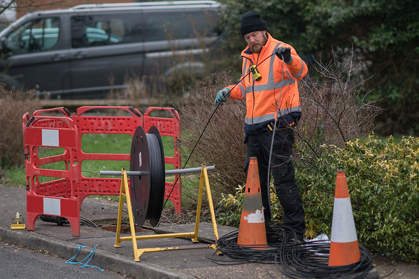 Full Fibre Broadband Comes to Spaldwick (2021)