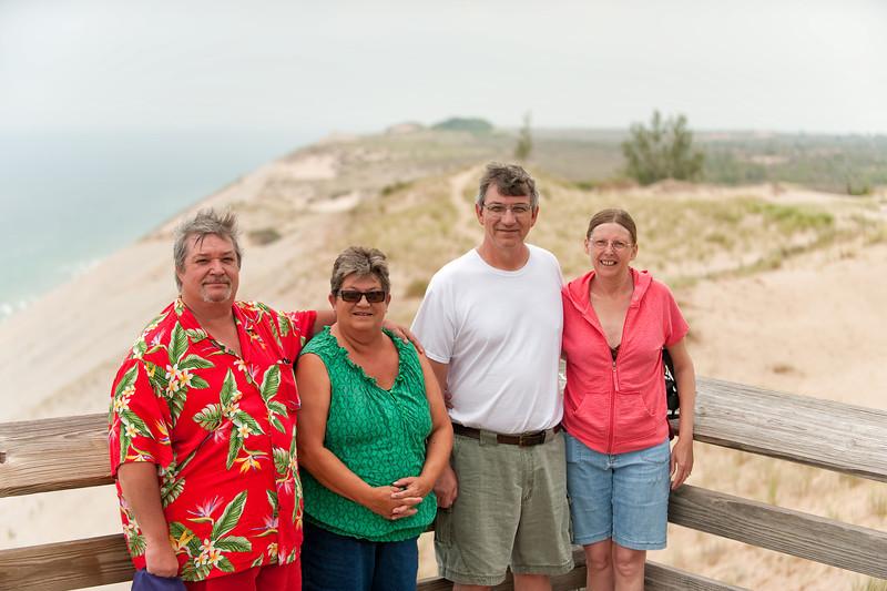 174 Michigan August 2013 - Sleeping Bear Dunes (Mike,Pan,Dan,Janice).jpg
