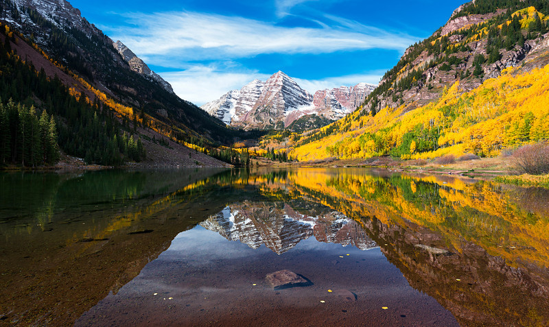 the Serene Maroon Bells  |  Aspen, Colorado