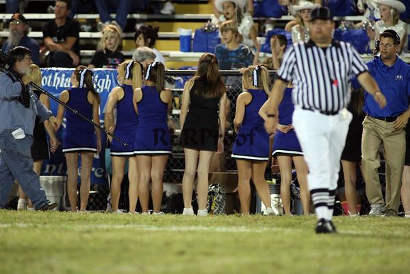 CHS Varsity Cheer October 3, 2008