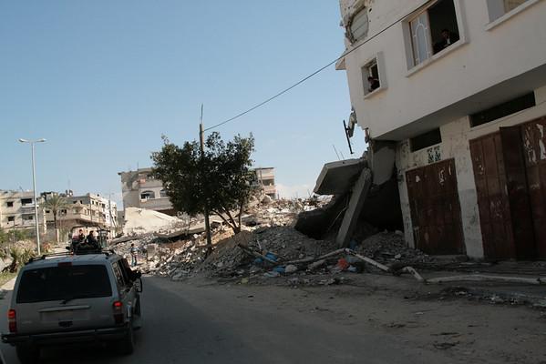 Jabaliya camp,  Gaza March 2009