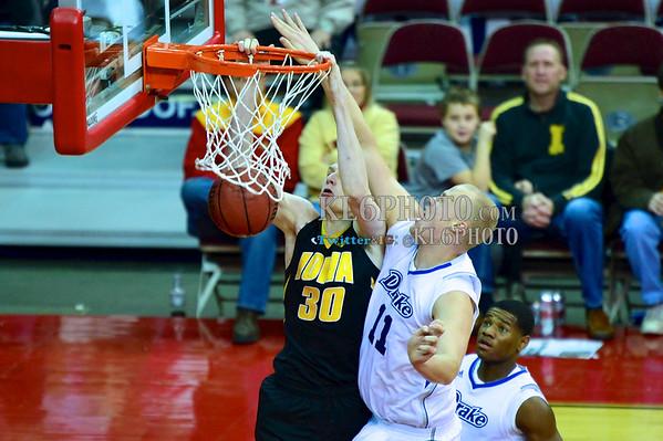 Iowa MBB vs Drake Iowa 12/07/13 BigFourClassic