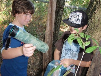 Junior Geocaching Trip 10/25/2008