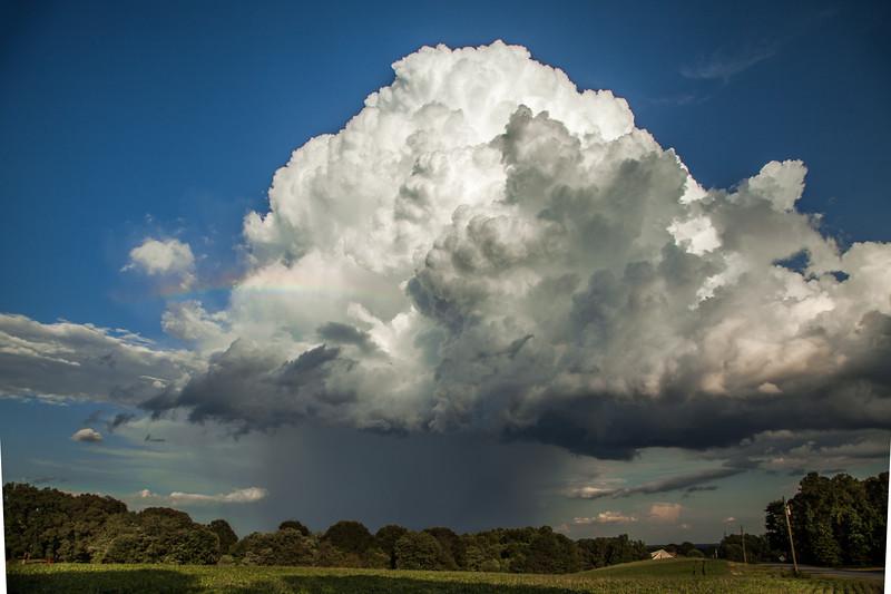 Rainbow Thunderstorm