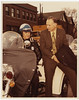 William H. Hudnut III with Police Motorcycle, Photograph