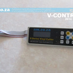 SKU: V-CONTROL, Full Control Panel Set with LCD and Control Buttons for V-Series Vinyl Cutter