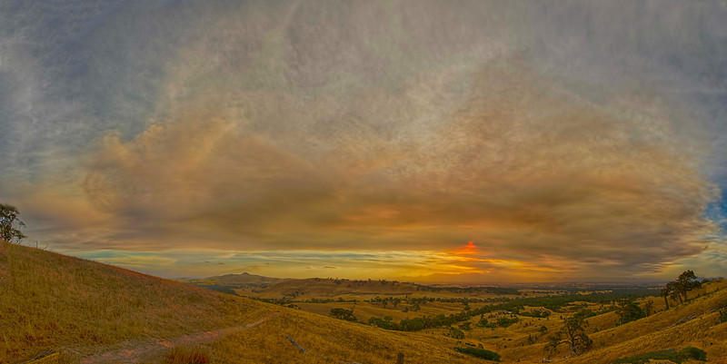 Grampians Mountains Fire