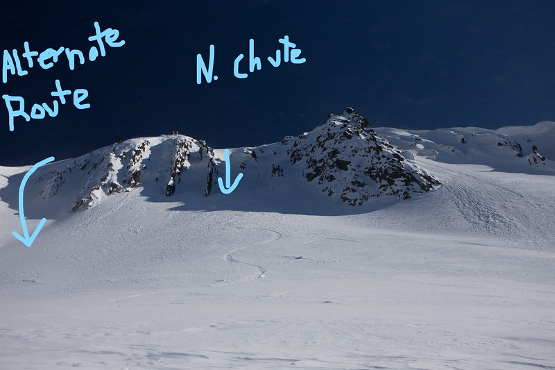 Rock Mountain, North Face