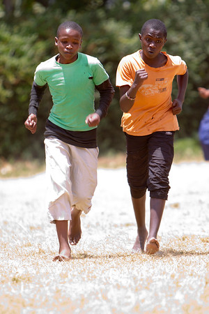 Kenya - Nugagu Boys High School (Kikuyu, Kenya) Track & Field Meet 3-16-12