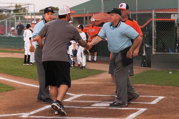 Roseville West Little League Major Tigers vs Orioles 4-10-14