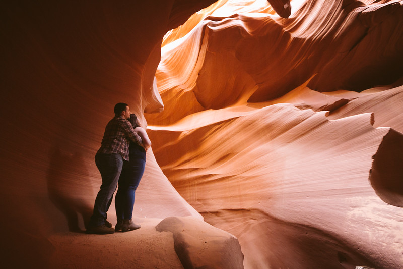 Jake & Dinah's antELOPE Canyon Session