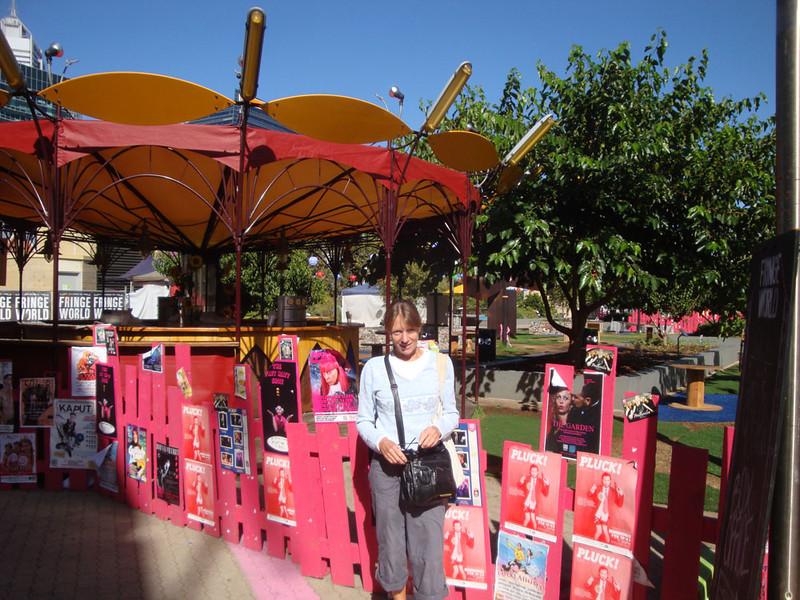 My wonderful friend Cheryl showed me the Fringe Festival