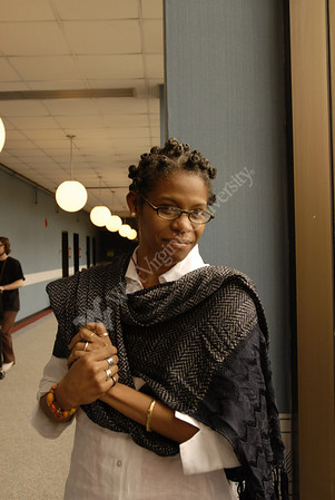 24559 AFRICAN LITERATURE SPEAKER JOSEFINA BAEZ A WRITER AND  PERFORMER FROM DOMINICAN REPUBLIC