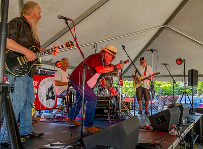 Set five: One More Mile at the Beer Garden, Vashon Island Strawberry Festival Saturday 2018