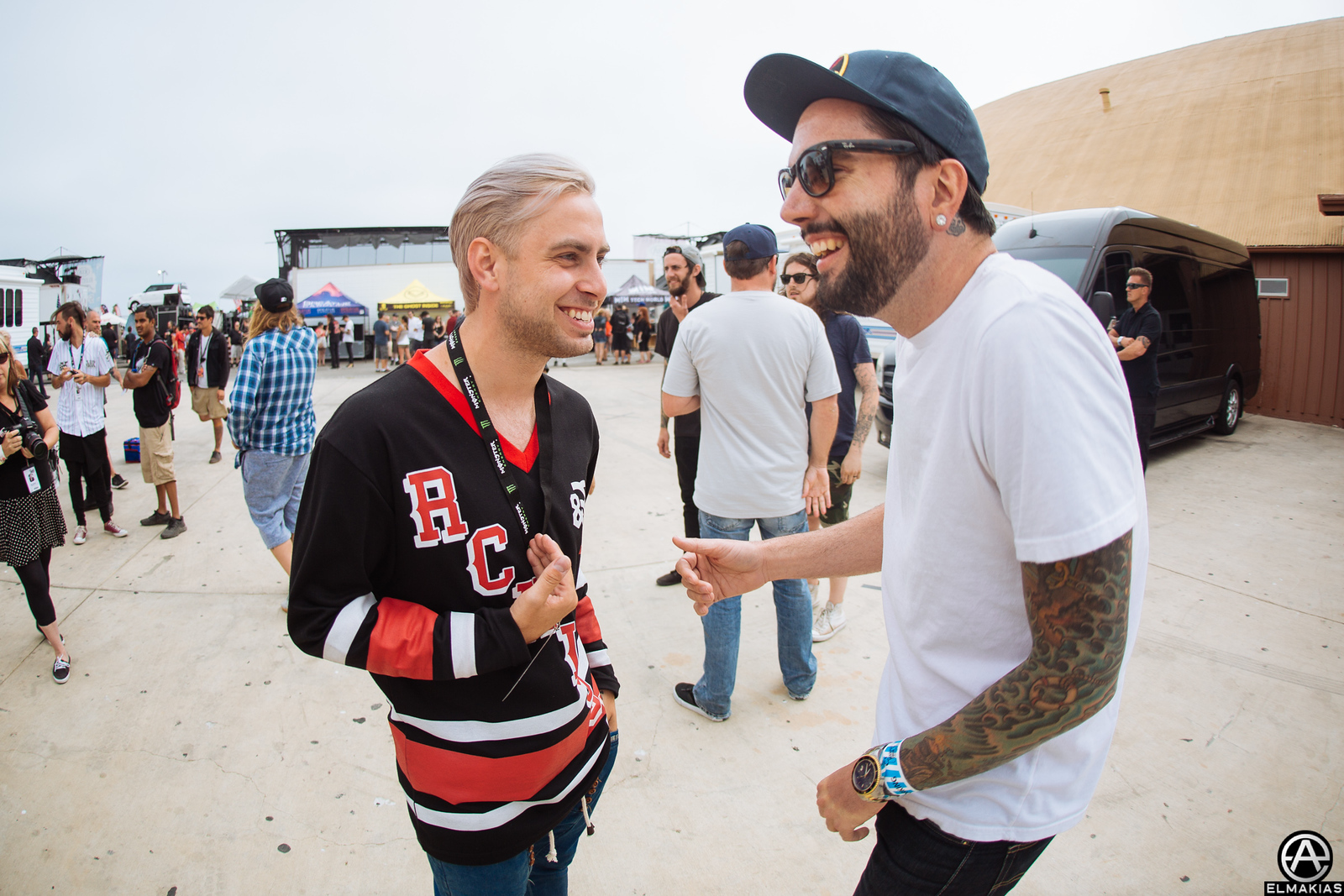 Tyler Carter of Issues and Jeremy