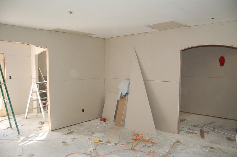 Master bedroom, with entry to the master bath on the left, and closet is on the right.