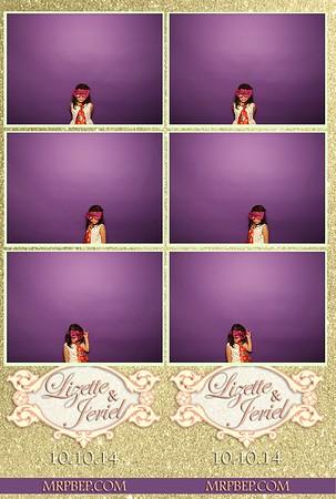 Lizette & Jeriel   Oct. 10th 2014
