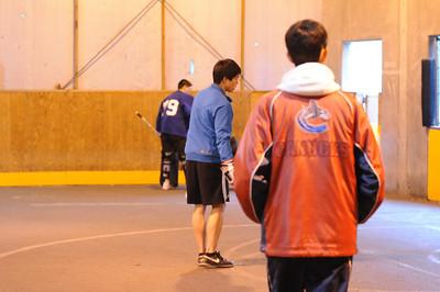 Entourage Ball Hockey - UBC 2010
