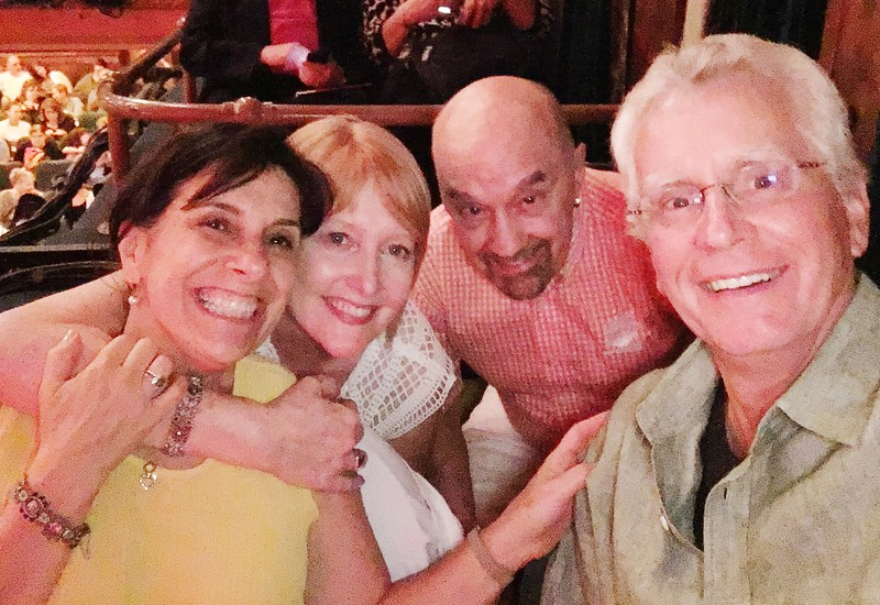 friends at Hello Dolly!