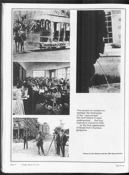 SoCal, Vol. 61, No. 92, March 16, 1970