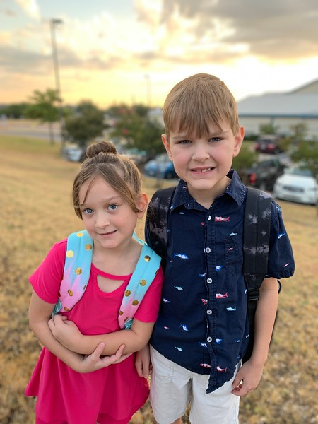 Lilian & Alan | 1st grade & 3rd grade | Giddens Elementary