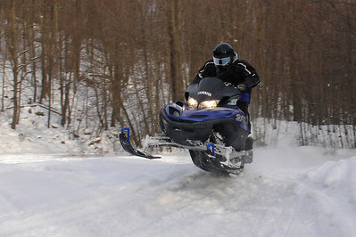 Snowmobiling in Noxen 1-23-2009