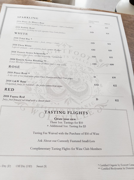 lightfoot and wolfville tasting flight menu.jpg