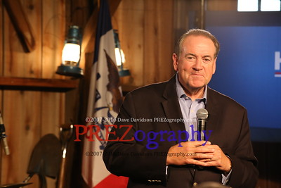 Mike Huckabee First Iowa Prez Rally