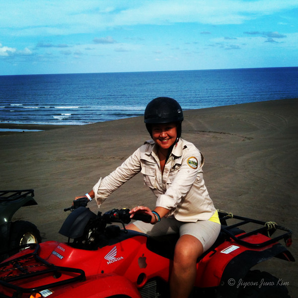 ATV ride at the Chachalacas sand dunes