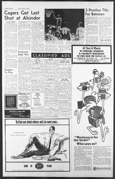 Daily Trojan, Vol. 58, No. 87, March 10, 1967