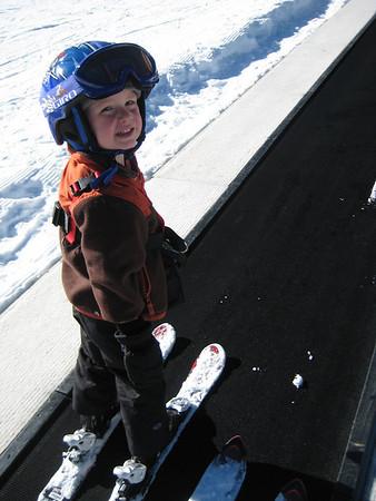 Caleb's 1st Day Skiing Nov 09