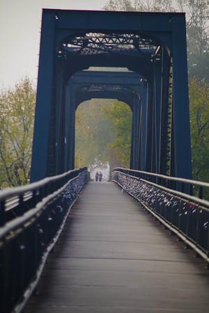 Rail Road Foot Bridge
