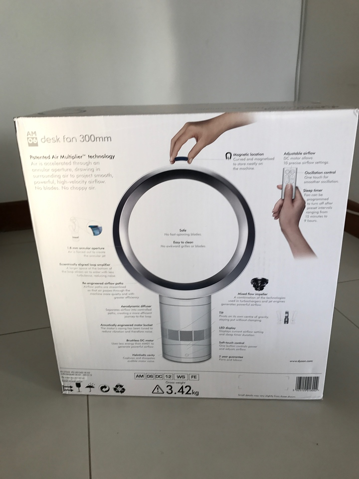 Dyson Fan AM06 Unboxing