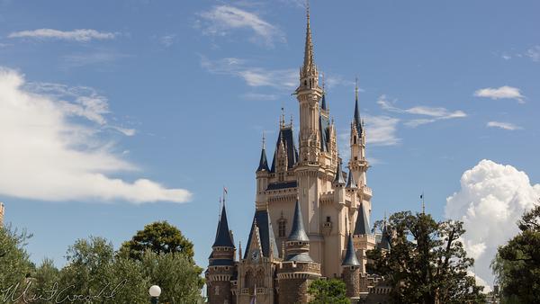 Disneyland Resort, Tokyo Disneyland, Fantasyland, Cinderella Castle, Cinderella, Castle