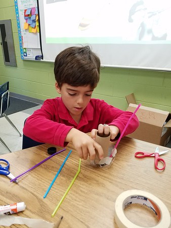 Can You Hear Me Now? First Graders Design and Build Ear Trumpets