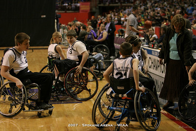 2007 WIAA Wheelchair Basketball - Spokane Arena