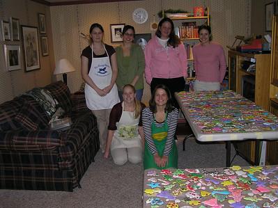 2006 12:  Mentees Visit, Cookie Baking
