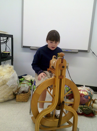 2nd grade Spinning Lessons 2011