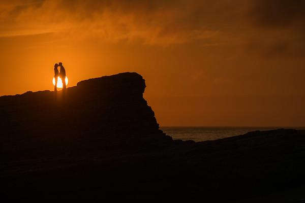 Kristen and Dan Engagement @ Panther Beach, Santa Cruz