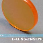 SKU: L-LENS-ZNSE/18/635, Φ18mm Zinc Selenide Lens FL 63.5mm with AR/AR Coating for CO2 Laser Beam