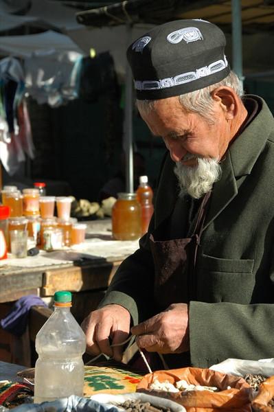 Spice Master, Osh Market - Kyrgyzstan