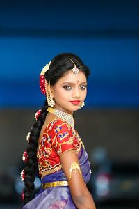 Anvita's Half Saree & Abhinav's Dhoti Ceremony post shoot