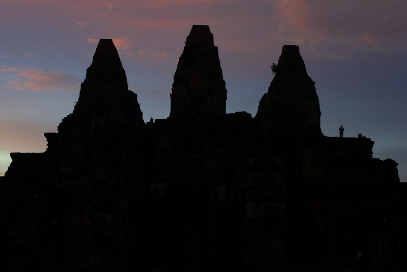 Sundown at Pre Rup